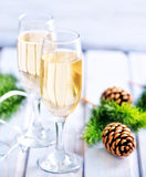 Two Champagne Glass Royalty Free Stock Photo