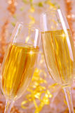 Two Champagne Glasses. Royalty Free Stock Photography