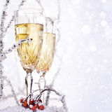 Two Champagne Glasses. Stock Image