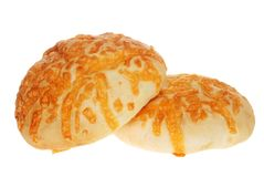Two Cheese Buns Royalty Free Stock Photography