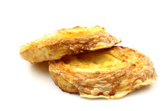 Two cheese rolls Royalty Free Stock Photos
