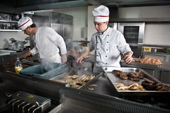 Free Two Chefs At Work Stock Images - 6401604