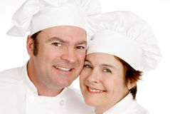 Two Chefs Portrait Royalty Free Stock Image