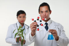 The Two Chemist Royalty Free Stock Photography