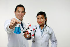 The Two Chemist Stock Image