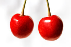 Two cherry. Stock Image