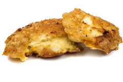 Two chicken schnitzel Stock Image