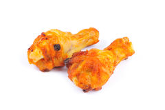 Two chicken wings Royalty Free Stock Image