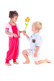 Two children Royalty Free Stock Photos