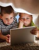 Two children stock photos
