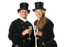 Two Chimney Sweeper Royalty Free Stock Photos