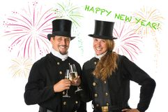 Two Chimney Sweeper Royalty Free Stock Photography
