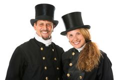 Two Chimney Sweeper Royalty Free Stock Image