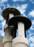 Two Chimneys Stock Photo