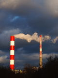 Two Chimneys Stock Image