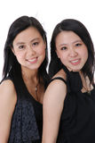 Two chinese friends Royalty Free Stock Photos