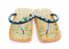 Two Chinese summer sandals Royalty Free Stock Photo
