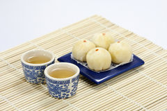 Two Chinese Teacup Stock Photo