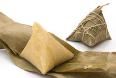 Two Chinese ZongZi Stock Photo