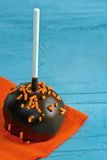 Two chocolate cake pops Stock Images