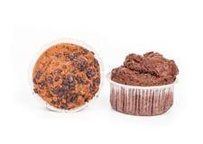 Two chocolate cake. Stock Image