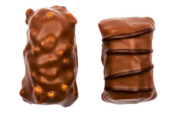 Two chocolate candies Stock Photo