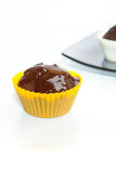 Two chocolate muffins Royalty Free Stock Image