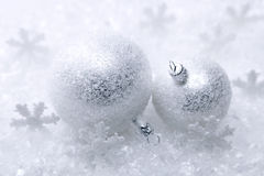 Free Two Christmas Balls Stock Photography - 16484122
