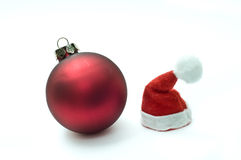 Two Christmas ornaments Stock Photography