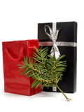 Two Christmas Presents Royalty Free Stock Photo