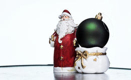 Two christmas toy Royalty Free Stock Images