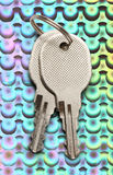 Two chrome keys Royalty Free Stock Images