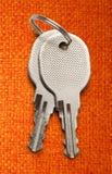 Two chrome keys Stock Images