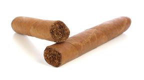 Two cigar Royalty Free Stock Photography