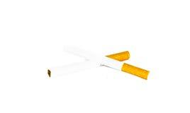 Two cigarette Stock Image