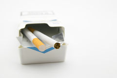 Two Cigarettes Royalty Free Stock Photos