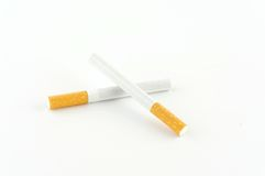 Two cigarettes Stock Images