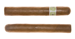 Two cigars Royalty Free Stock Image