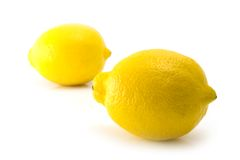 Two citrus Royalty Free Stock Photography