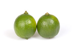 Two citrus lime. Stock Photo