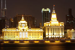 Two classic historical buildings in shanghai Stock Images