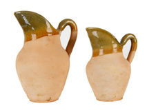Two clay jugs Royalty Free Stock Photo