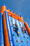 Two climbing children Stock Photos