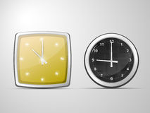Two clocks Royalty Free Stock Image