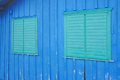 Two closed windows Stock Photography