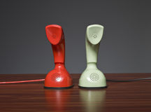 Two cobra phones Royalty Free Stock Image