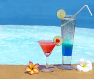 Two cocktails Royalty Free Stock Image