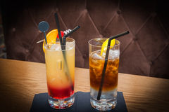 Two cocktails Royalty Free Stock Photography