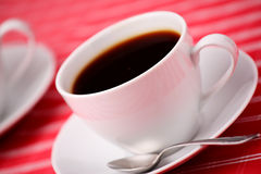 Two coffee cups Stock Images
