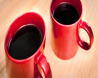 Two coffee mugs Royalty Free Stock Photography